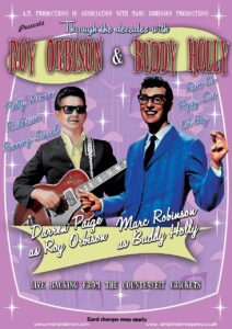 Roy Orbison and Buddy Holly Show - Tribute night - Rescheduled to Sat 5 June 2021