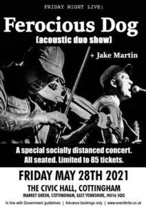 Ferocious dog - acoustic duo show