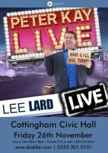 Peter Kay Tribute with Lee Lard