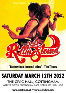 The Rollin' Stoned - Stones Tribute act